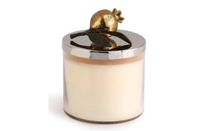 Michael Aram Pomegranate Gold Candle