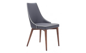 Noor Dining Chair - Dark Gray