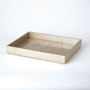 Silver Leaf Tray - Large