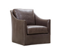 William Leather Swivel Chair
