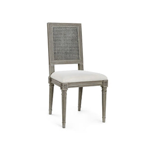 French Country Dining Chair - Grey