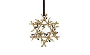Olive Branch Star Ornament