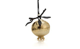 Pomegranate Ornament Gold