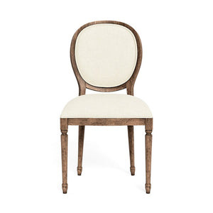Italian Round Back Dining Chair - 4 Finishes