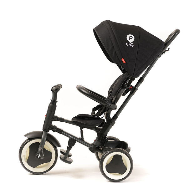 BLACK RITO FOLDING TRIKE - Smart Stroller Trike for Kids