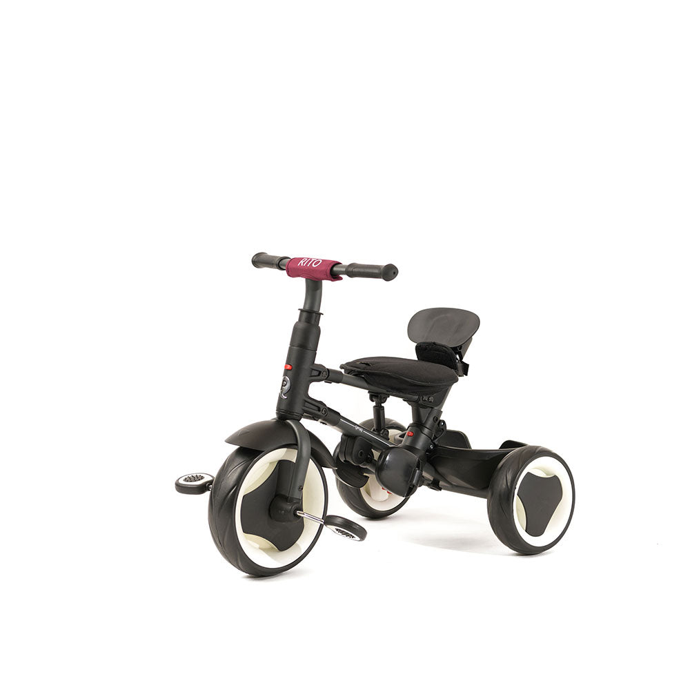 BURGUNDY RITO FOLDING TRIKE - Folding Trikes for Kids