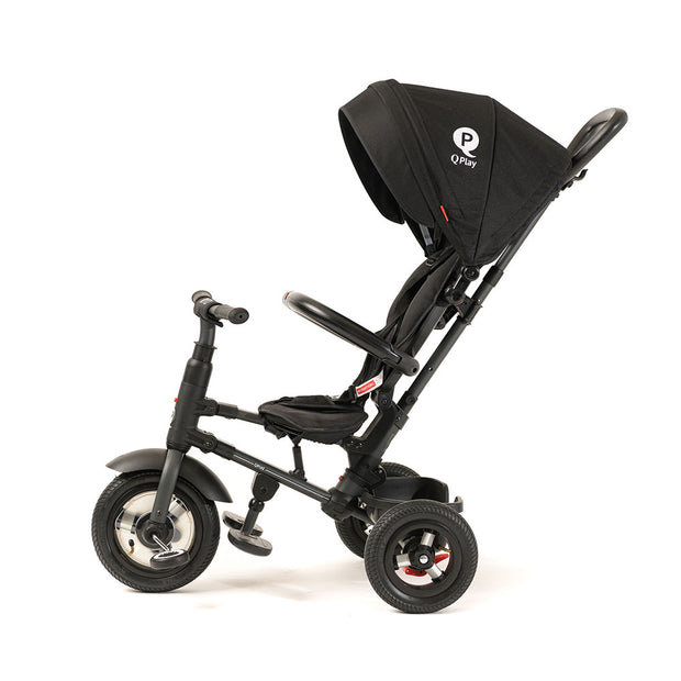 BLACK RITO PLUS FOLDING TRIKE - Smart Stroller Trike for Kids