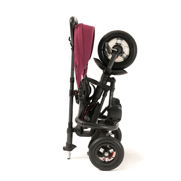 BURGUNDY RITO PLUS FOLDING TRIKE - Folding Trike for Kids