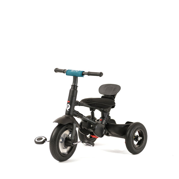 TEAL RITO PLUS FOLDING TRIKE - kids trike with air air filled rubber tires