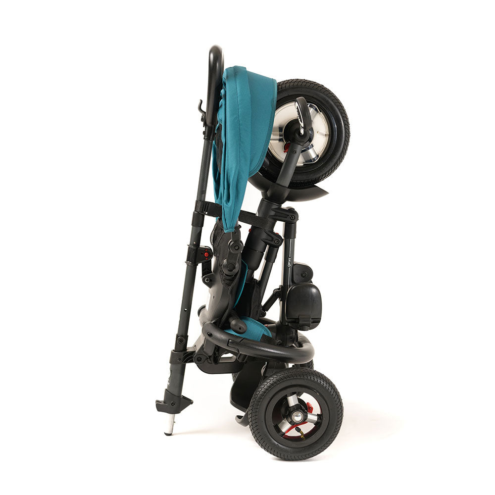 TEAL RITO PLUS FOLDING TRIKE - easy to fold kids trike