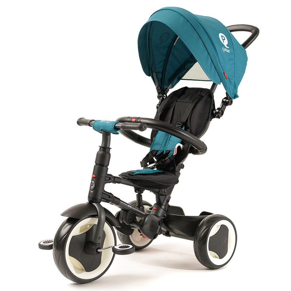 TEAL RITO FOLDING TRIKE - Smart Kids Trike