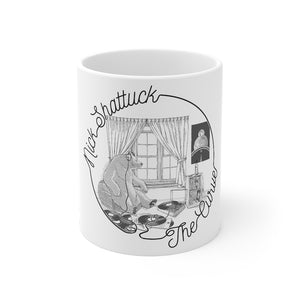 NICK SHATTUCK THE CURVE COFFEE MUG
