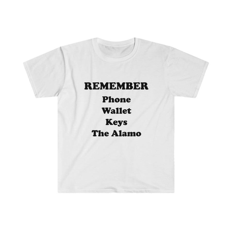REMEMBER THE ALAMO TEXAS TEE