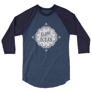 ELIJAH OCEAN 3/4 SLEEVE LOGO TEE - THE ROADHOUSE