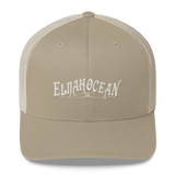 ELIJAH RETRO EMBROIDERED TRUCKER HAT - THE ROADHOUSE