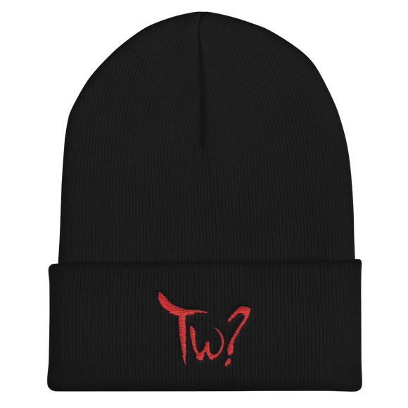TARAH WHO? LOGO BEANIE - THE ROADHOUSE