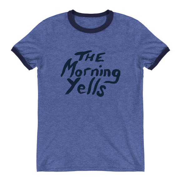 THE MORNING YELLS 50'S RINGER TEE - THE ROADHOUSE