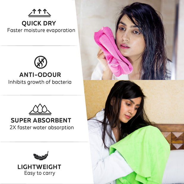 Microfiber Home & Kitchen Cleaning and Dusting Cloth 340 GSM