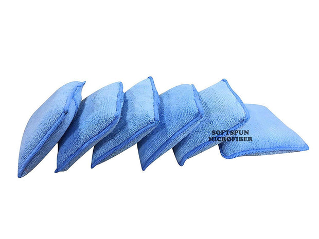 Microfiber Automotive Super Soaker Cleaning & Polishing Pad for Wet/Dry Cleaning