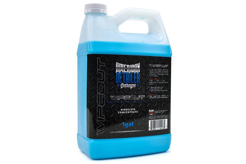 [WIPEOUT] Gallon & 32oz | Hybrid Waterless Wash Concentrate | Amazing Interior & Glass Cleaner