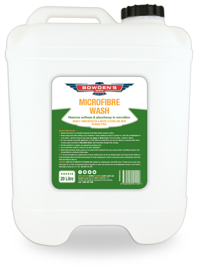 Bowden's Own Microfibre Wash