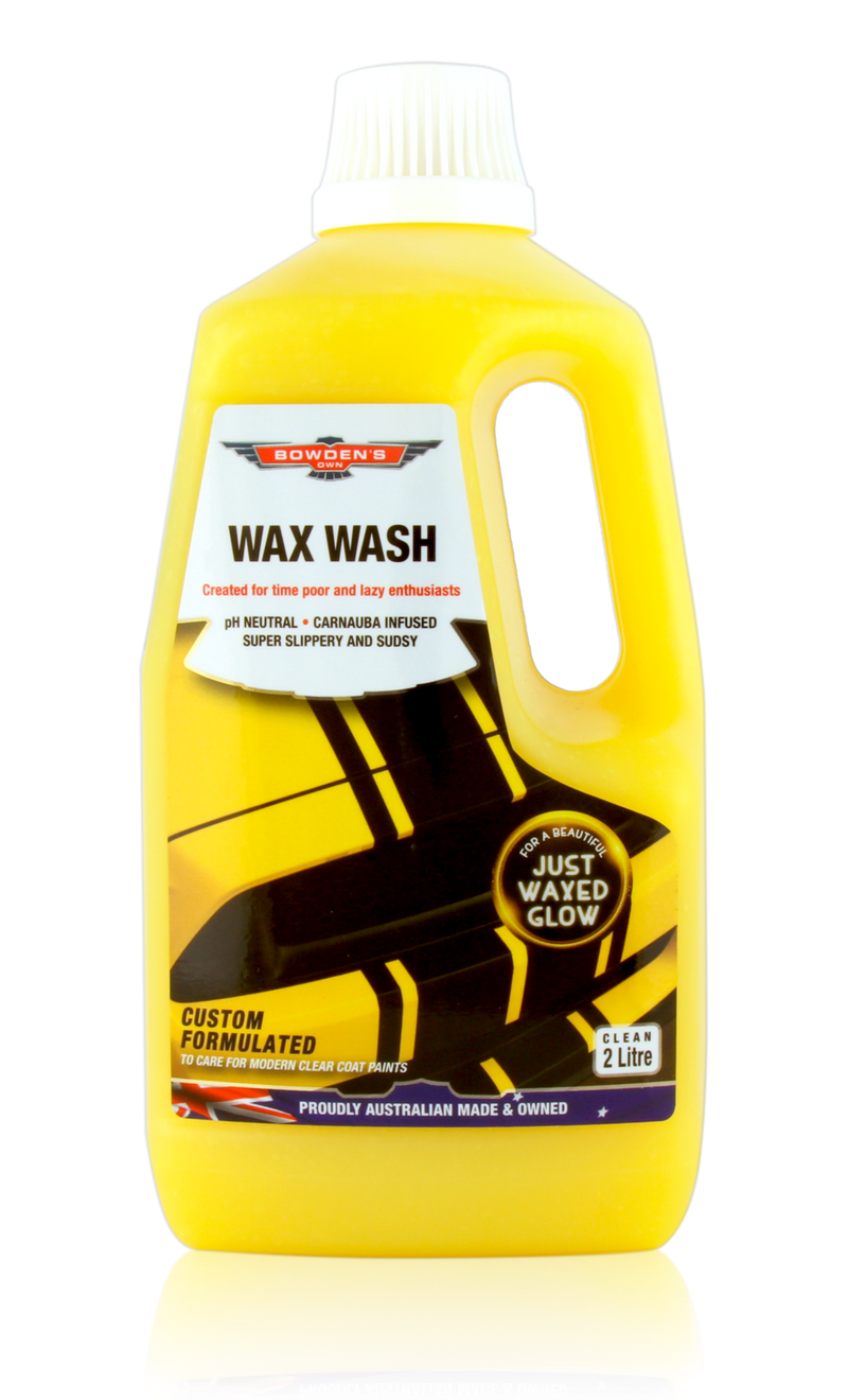 Bowden's Own Wax Wash 2lt