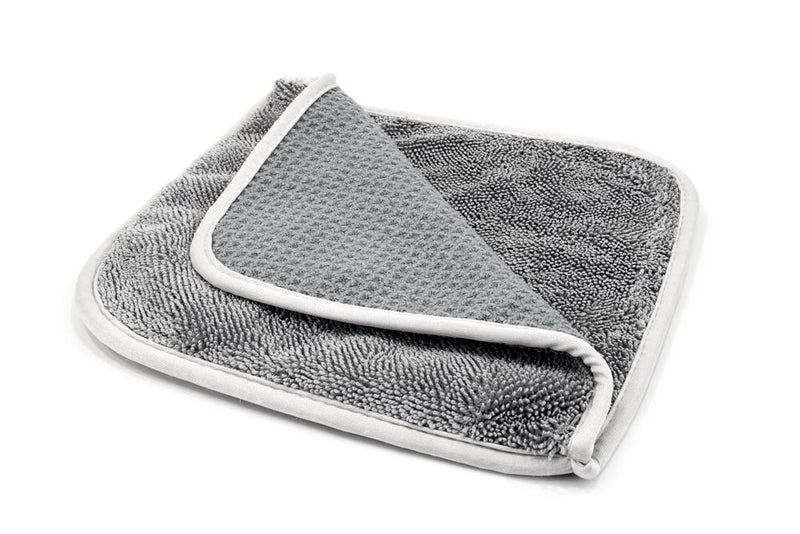 [Double Glass Flip] Waffle & Twist Microfiber Window Towels 3 PACK
