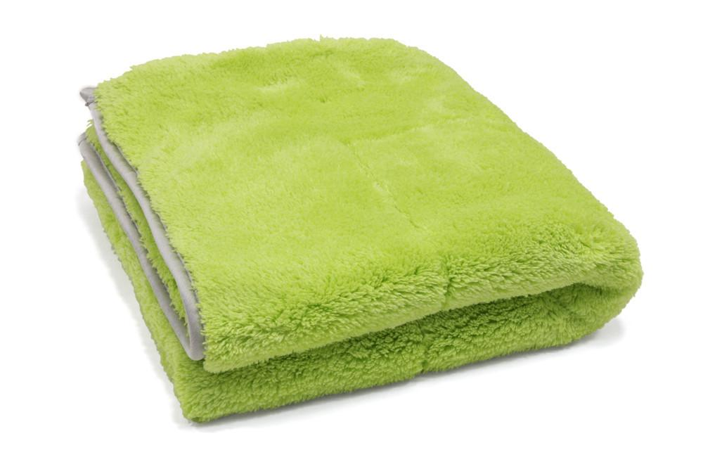 "[Motherfluffer XL] 1100gsm 22"" x 22"" Plush Microfiber Drying Towel"