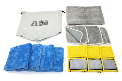 [Double Flip 70/30] Spray Wax/Sealant Microfiber Towel