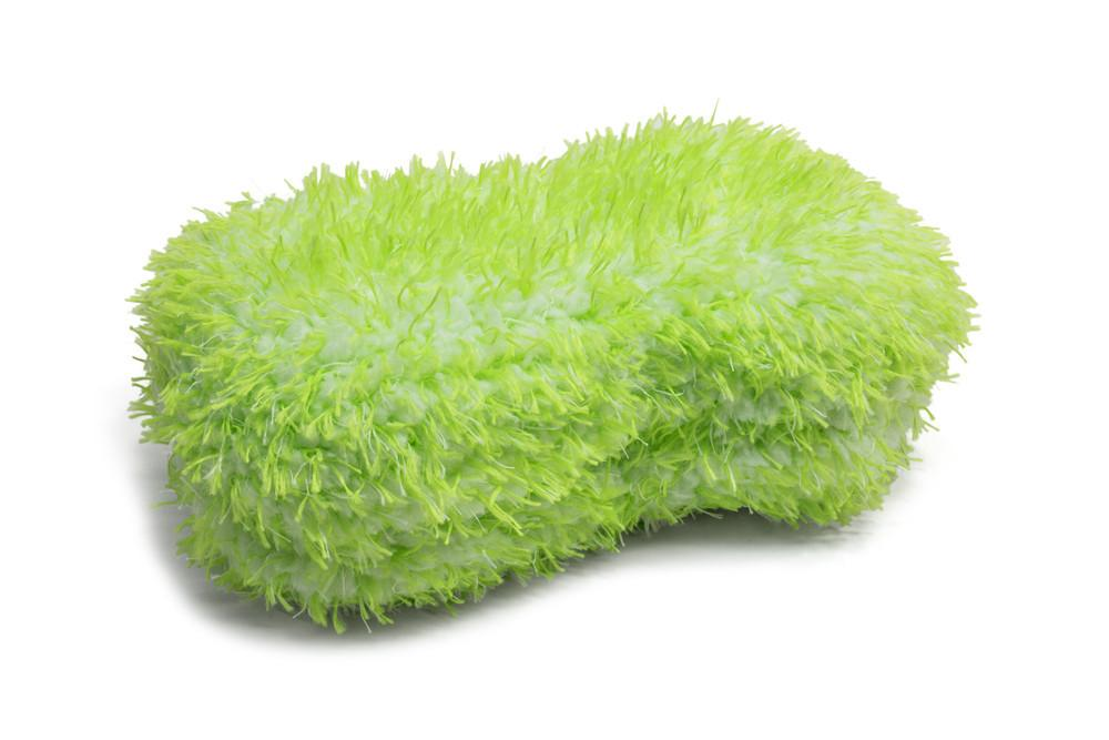 [Green Monster Car Wash Sponge]
