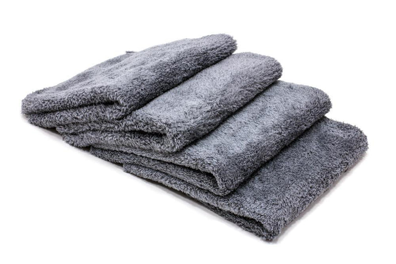 [Korean Plush] 470gsm Cuddly Edgeless Detailing Towels - 4 Pack