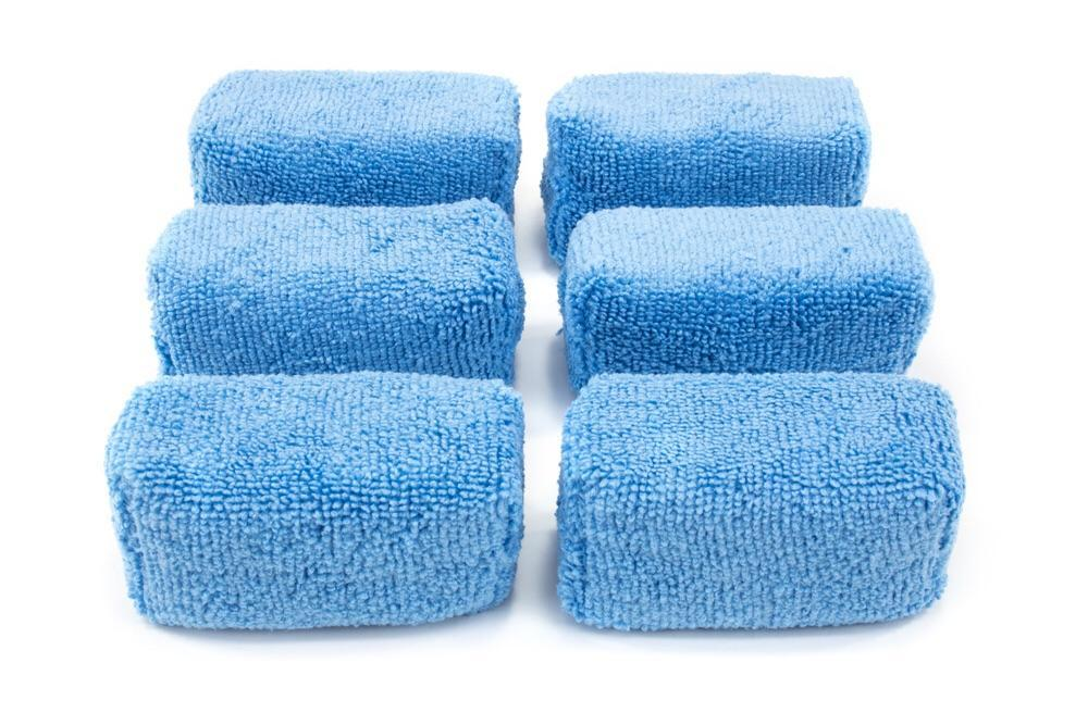 [Block Sponge Mini] Microfiber Terry Coating Applicator