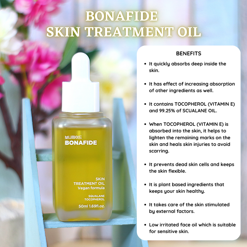 BONAFIDE  SKIN TREATMENT OIL