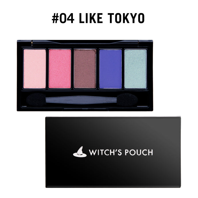 Witch's Pouch 5 Colors Eyeshadow