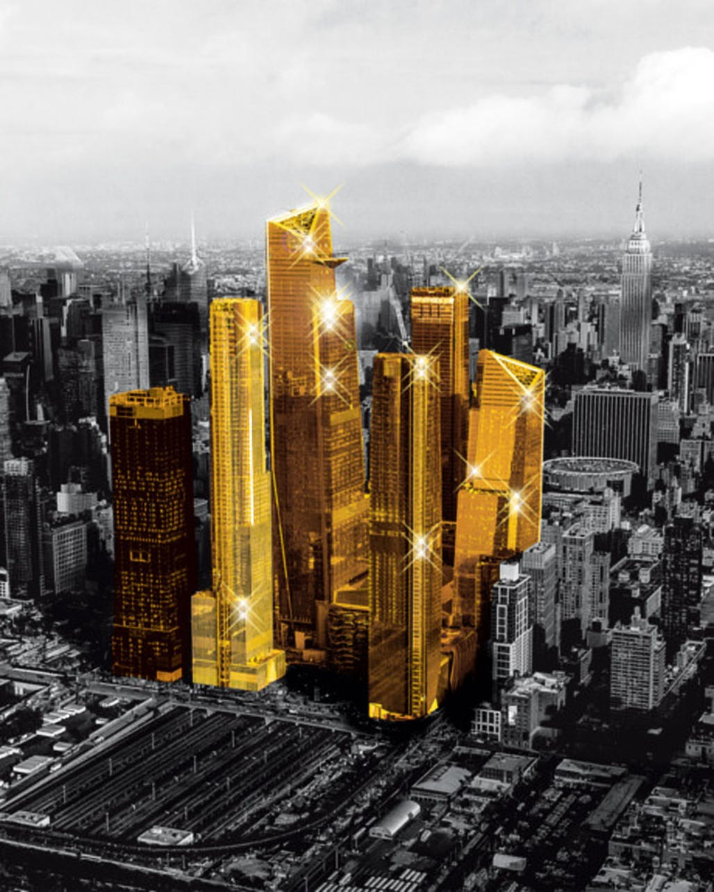 Is New York's Hudson Yards a playground for billionaires or a budding new urban landscape?