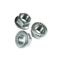 Serrated Flange Nuts Stainless Steel