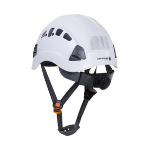 H1-CH® with Visor Industrial ANSI Chin Strap Hard Hat *PREORDER* - Defender Safety Products