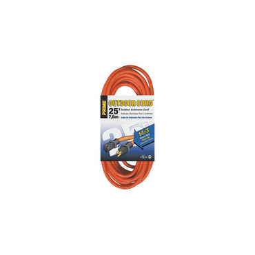 25ft 14/3 SJTW Orange Extension Cord - Bridge Fasteners