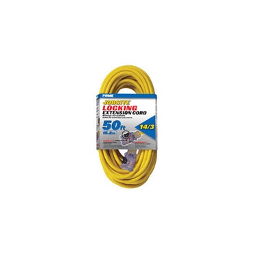 50ft 14/3 SJTW Yellow Cord w/Primelight® & Primelok®