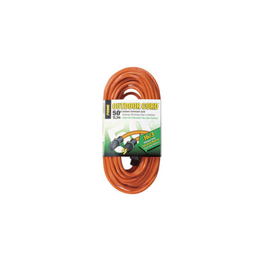 50ft 16/3 SJTW Orange Outdoor Extension Cord