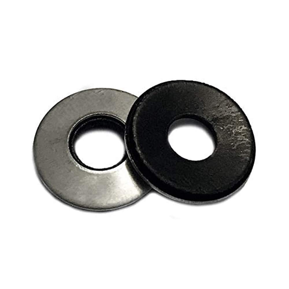 AISI 304 Stainless Steel 2000 pcs 1//4 X 1//2 Neoprene EPDM Bonded Sealing Washer 18-8