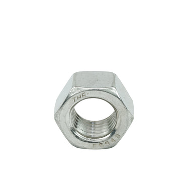"1 1/8"" - 7 Hex Nuts Coarse, Stainless Steel 18-8, Plain Finish, Quantity 5"