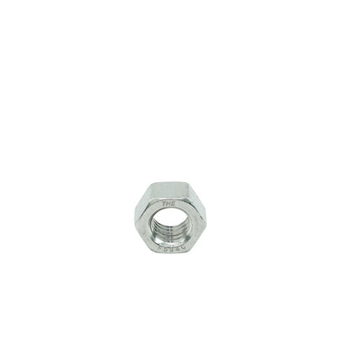 "1/2"" - 13 Hex Nuts Coarse, Stainless Steel 18-8, Plain Finish, Quantity 25"