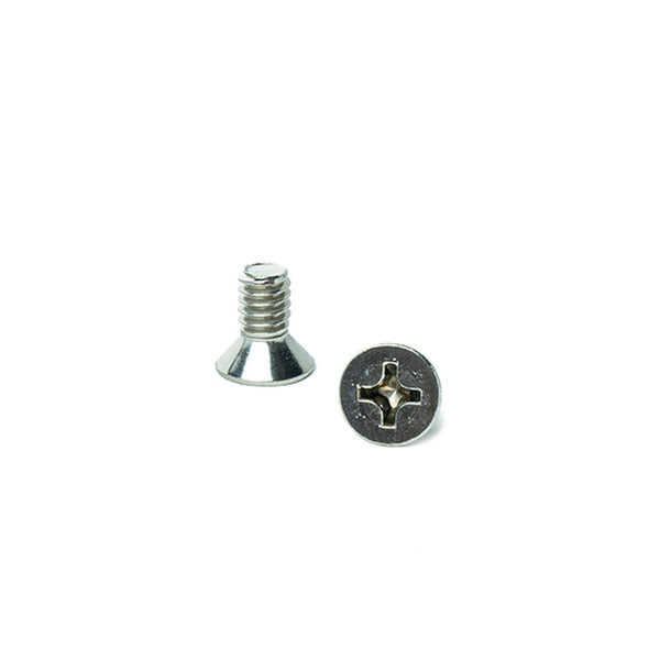 "1/4-20 x 1/2"" Flat Head Machine Screws, Phillips Drive, Stainless Steel 18-8, Full Thread, Bright Finish, Machine Thread"
