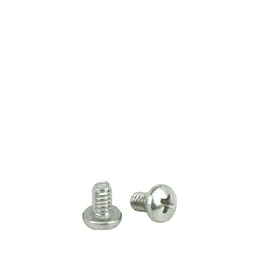"1/4""-20 x 1/4"" Pan Head Machine Screws, Phillips Drive, Stainless Steel 18-8, Full Thread, Bright Finish, Machine Thread"