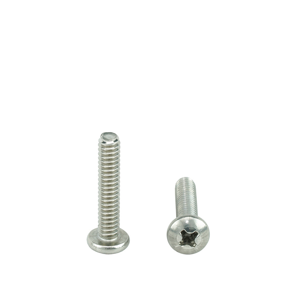 Machine Thread Stainless Steel 18-8 Full Thread Quantity 10 Pieces by Fastenere Phillips Drive Bright Finish 5//16-18 x 2-1//2 Pan Head Machine Screws