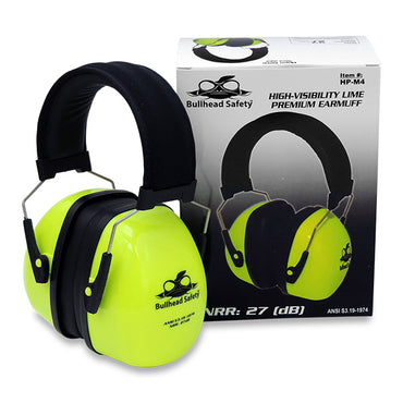 Bullhead - HP-M4 Premium Padded Band Earmuff - Bridge Fasteners