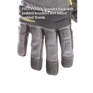 CLC 125 Handyman Flex Grip Work Gloves, Shrink Resistant, Improved Dexterity, Tough, Stretchable, Excellent Grip - Bridge Fasteners