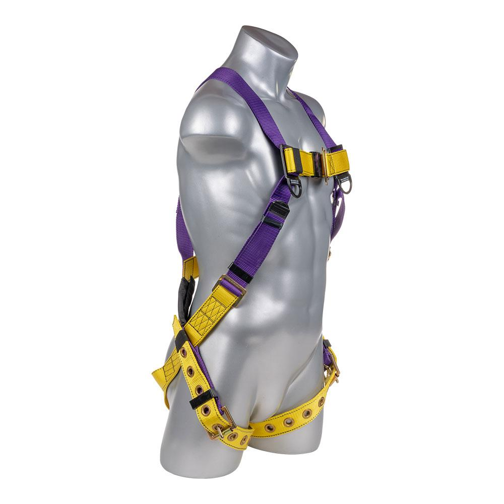 Construction Safety Harness 5 Point W   Grommet Legs  Back