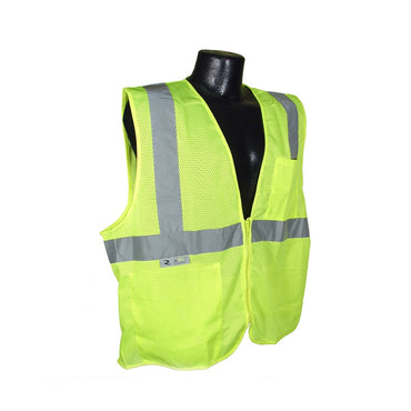 Radians SV2Z Economy Class 2 Vests with Zipper Closure - Bridge Fasteners